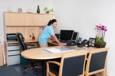 Office cleaning by A & B Commercial Cleaning Service, LLC